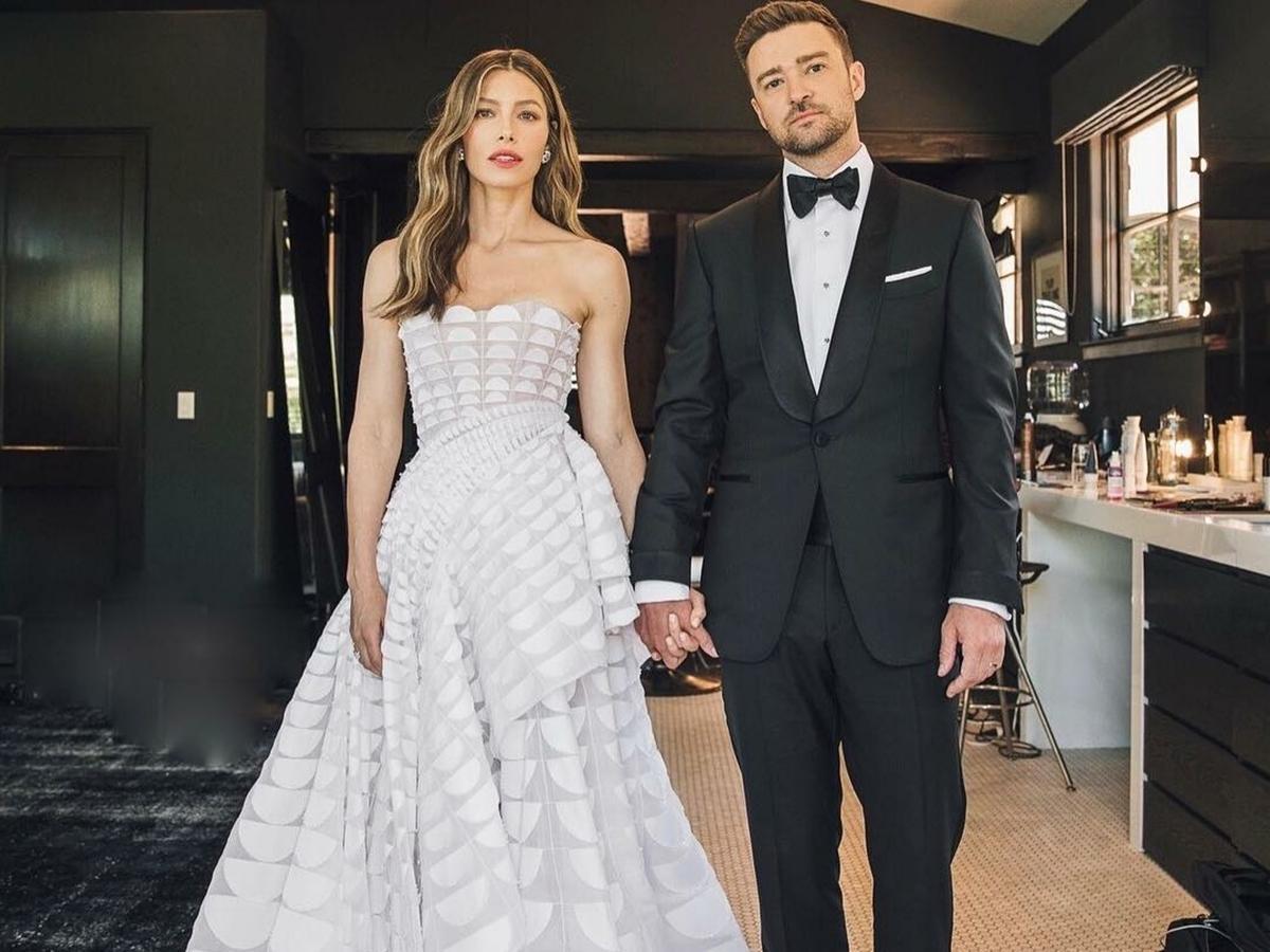 Imagem de Justin Timberlake e Jessica Biel