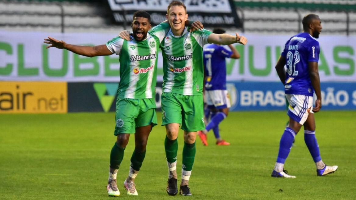 Derrota para o Juventude tirou possibilidades de acesso do Cruzeiro à Série A