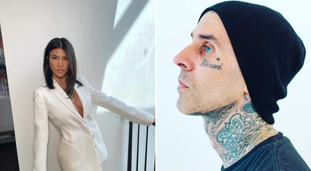 Kourtney Kardashian Travis Barker