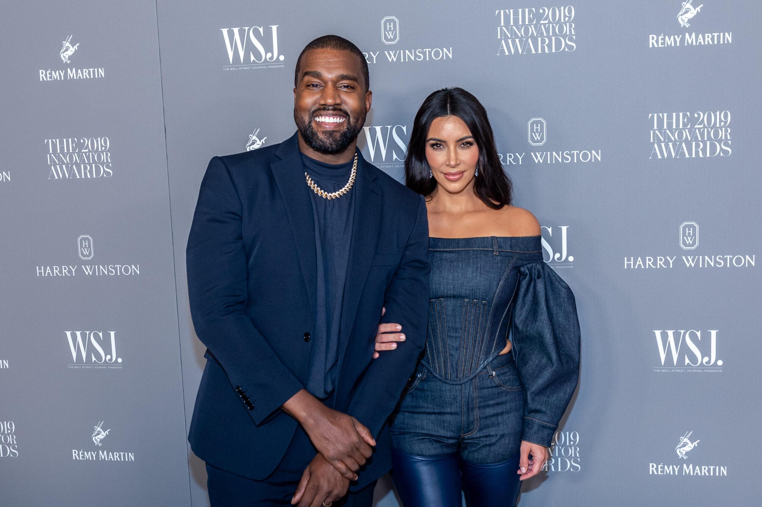 Kim e Kanye escândalos