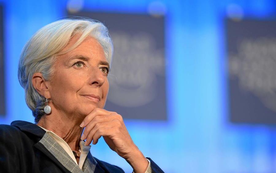 Lagarde, Presidente do Banco Central Europeu em evento