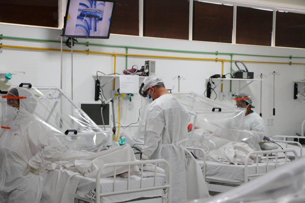 Após festas de fim de ano, hospitais particulares lotam por Covid-19 em SP