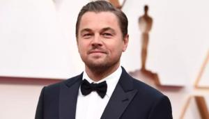 Foto do ator Leonardo DiCaprio em matéria sobre pessoas pobres que ficaram ric