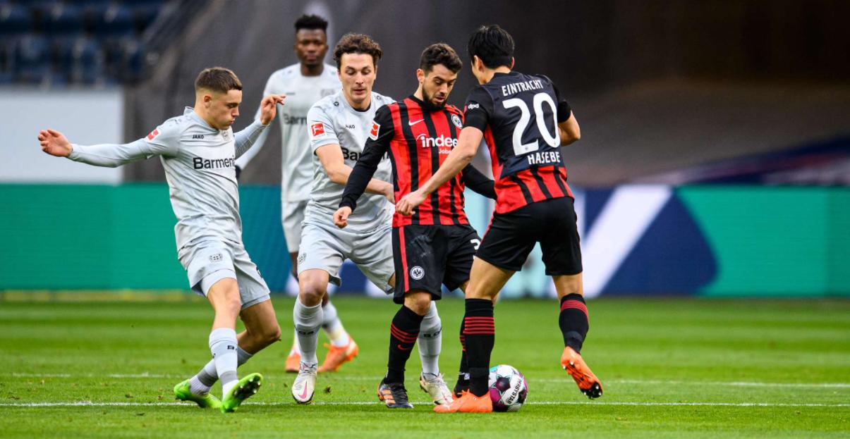 Bayer Leverkusen x Frankfurt