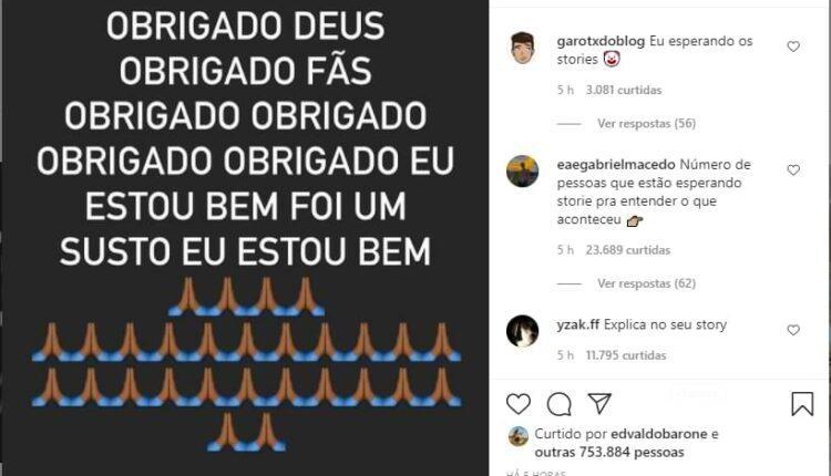Post de MC Livinho