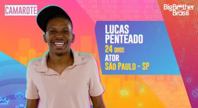 Lucas Penteado no BBB 21