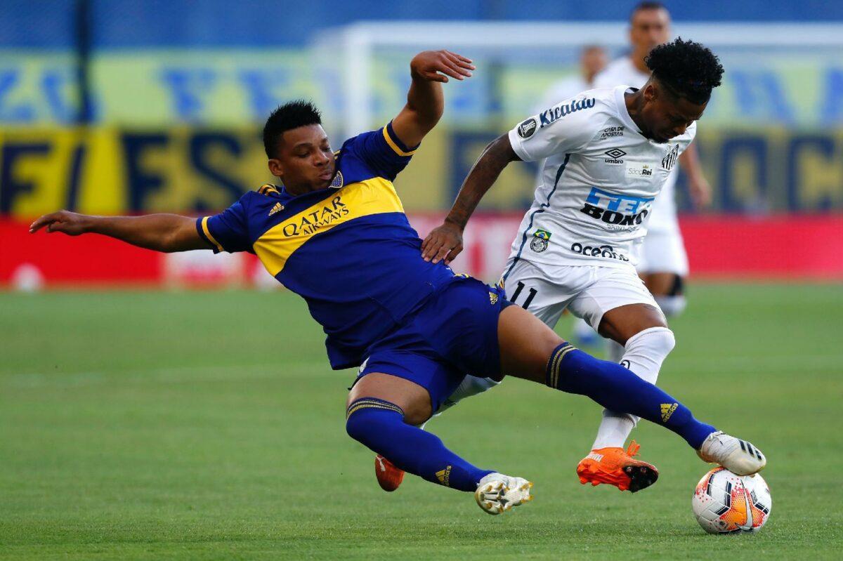 Pênalti em Marinho poderia ter alterado placar entre Boca Junior e Santos, mas árbitro não marcou