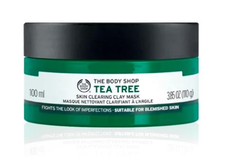 Imagem mostra máscara facial da The Body Shop