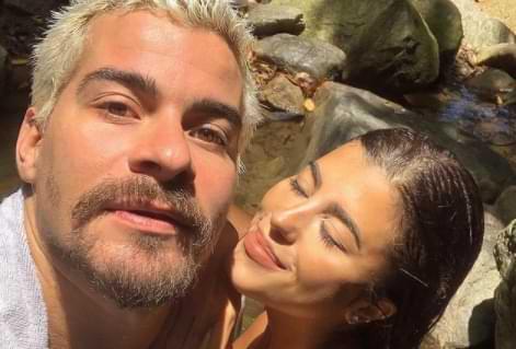 Thiago Martins e a namorada Talita Nogueira