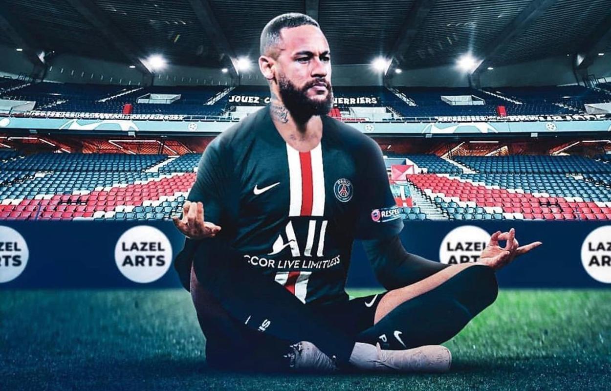 Memes do futebol em 2020: Neymar