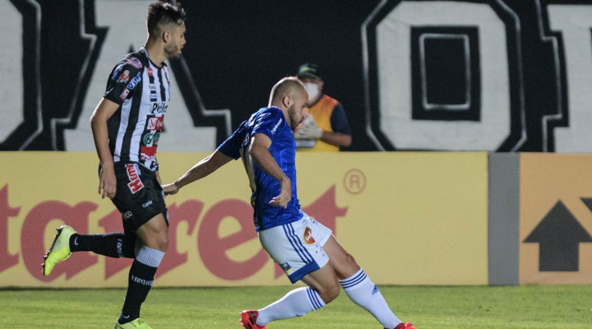 No primeiro turno, Cruzeiro venceu o Operário por 1 a 0
