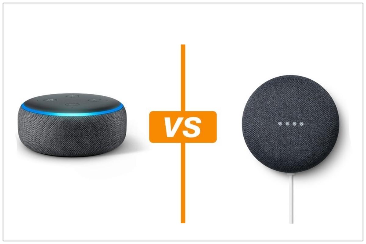 Echo Dot e Google Nest Mini