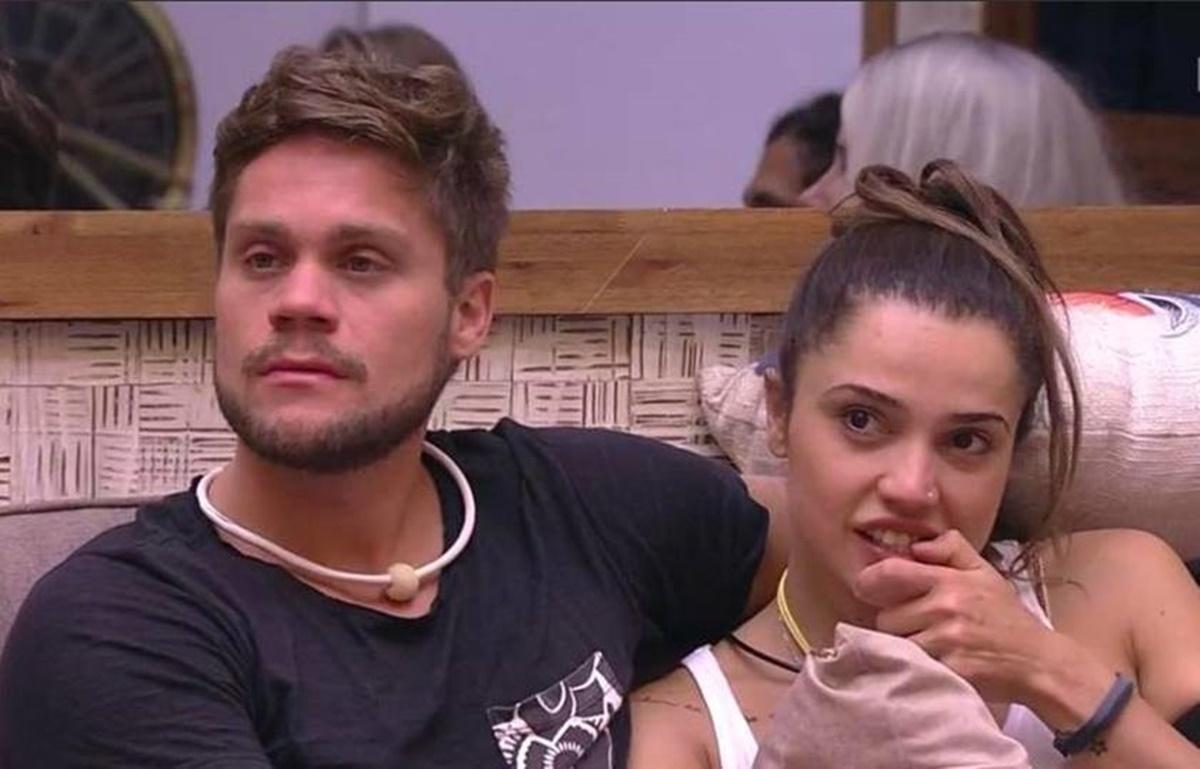 Breno Simões e Paula Amorim - BBB
