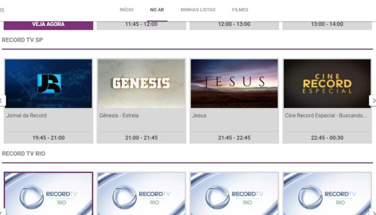 Para assistir a novela Gênesis