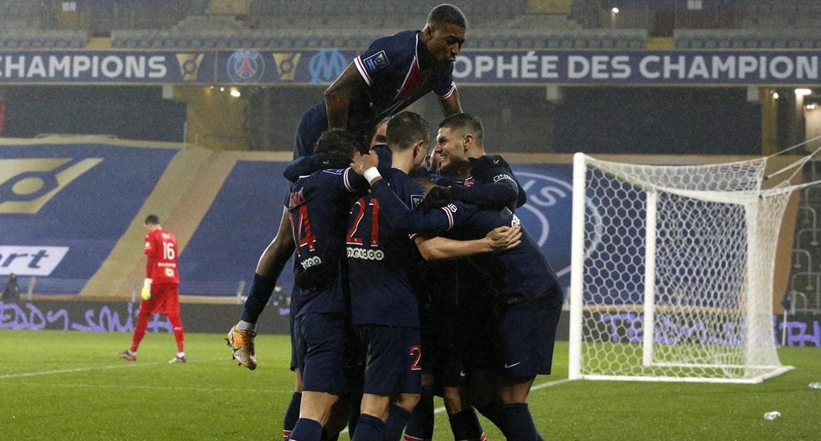 Angers x PSG