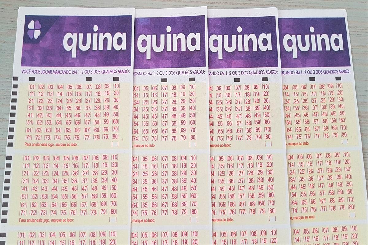 quina 5461 A imagem mostra volantes da Quina 5456