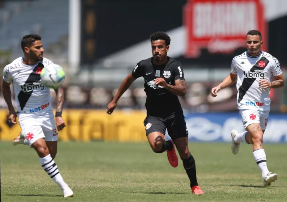 Vasco e RB Bragantino empataram em 1 a 1, no primeiro turno