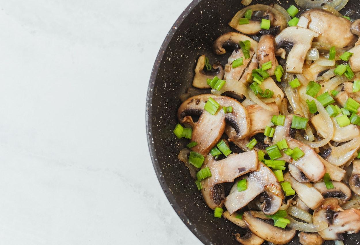 receitas com cogumelos