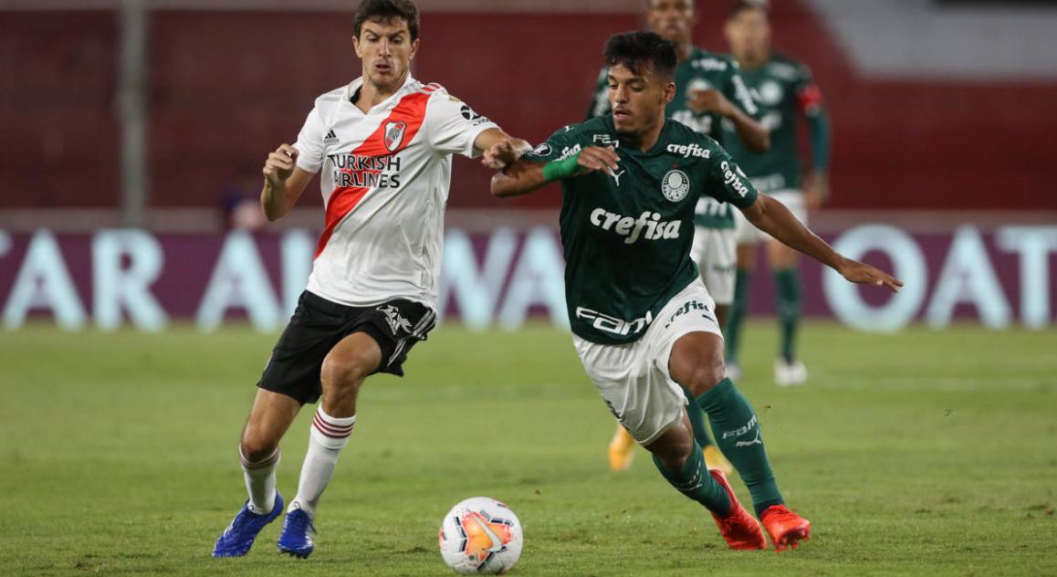 Palmeiras sofre, mas se garante na final da Libertadores