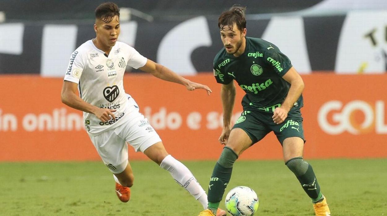 Santos e Palmeiras se enfrentam