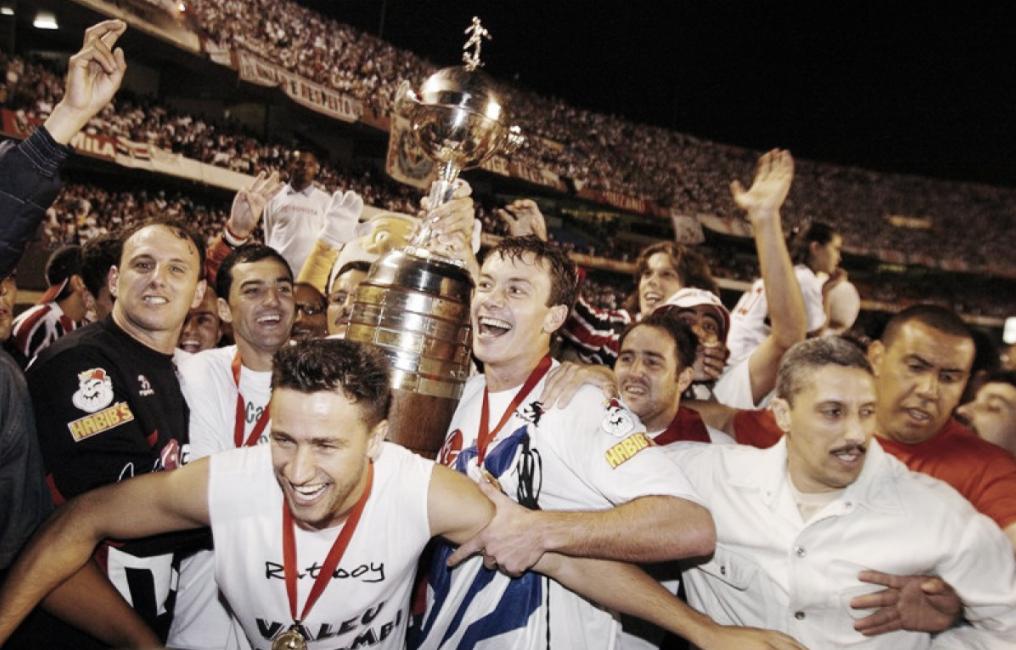 São Paulo FC campeão em 2005, primeiro tri brasileiro da Libertadores
