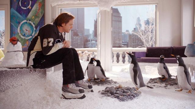Filme Os Pinguins do Papai da sessão da tarde de hoje