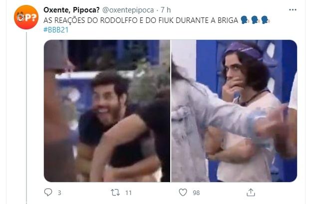 meme do bbb 21