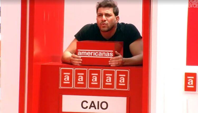 Na imagem, Caio Anjo da semana no BBB 21