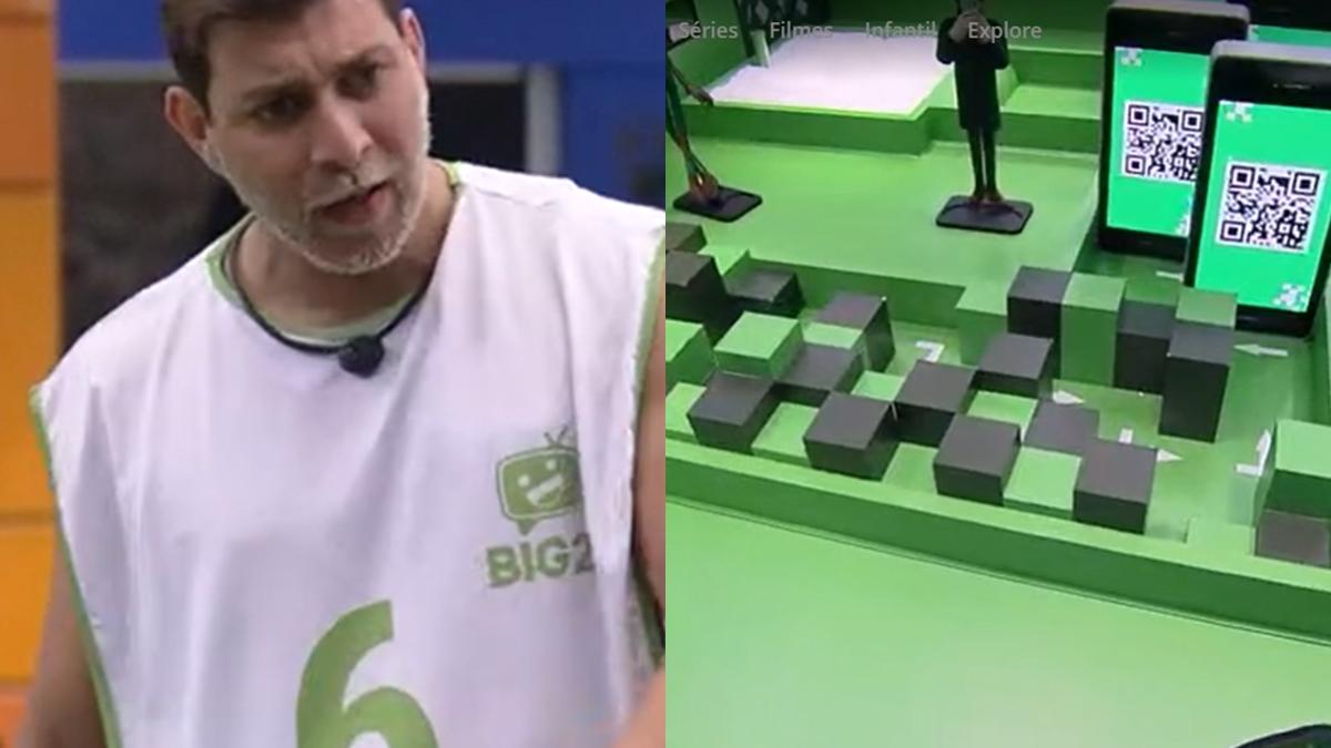 Caio vence a prova do Anjo do BBB21