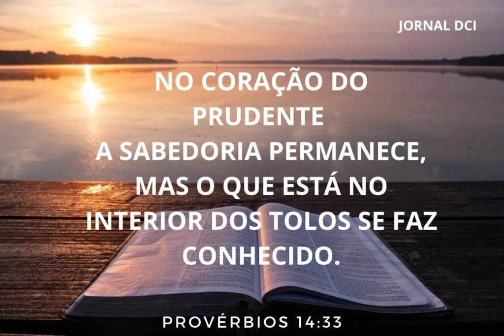 Provérbios de hoje