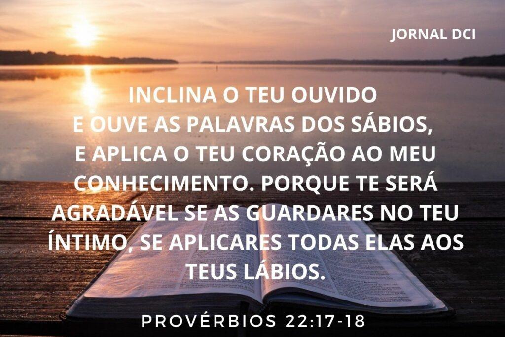 Provérbios - capítulo 22