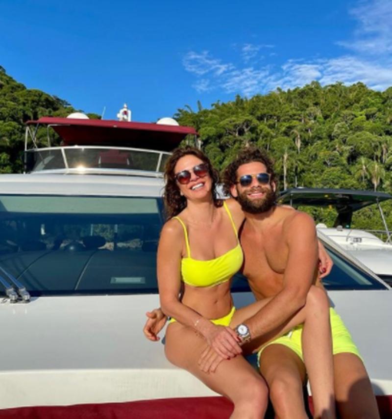 Luciana Gimenez e namorado, Eduardo