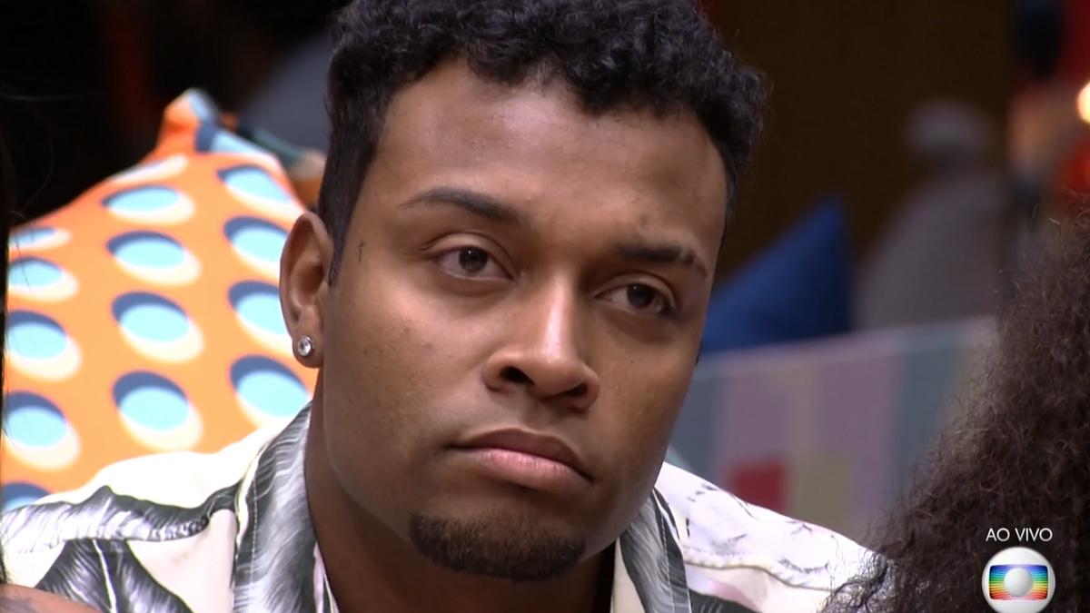 Nego Di saiu do BBB21 com 98,76% dos votos (Foto: Reprodução/ TV Globo)