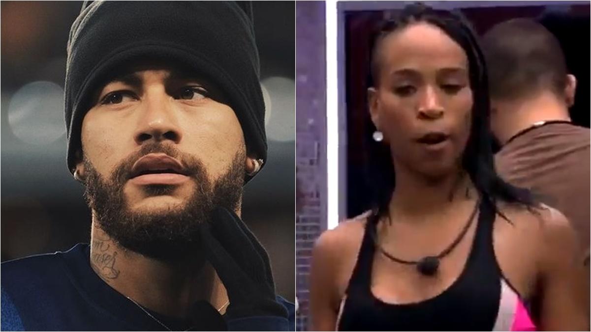 Neymar e Karol Conká BBB21