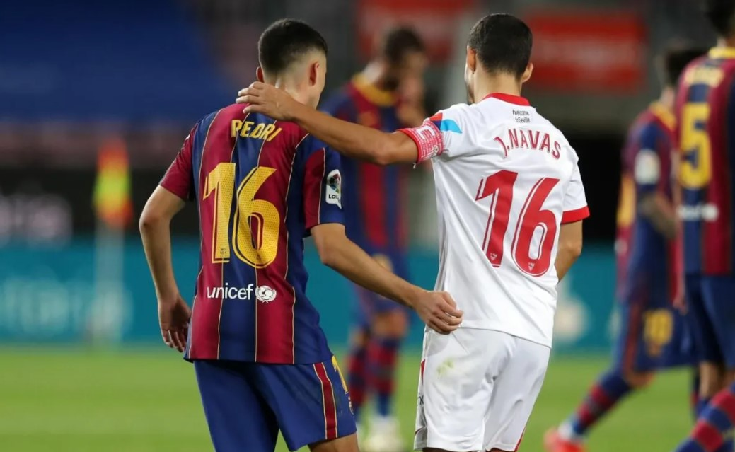 Sevilla x Barcelona