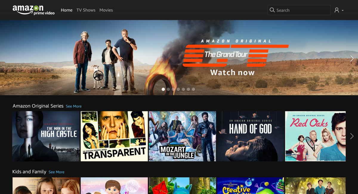 Amazon Prime Video, serviço de streaming