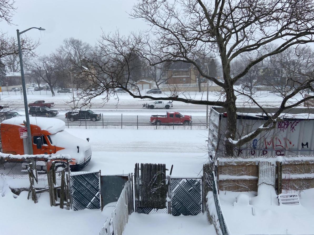 tempestade de neve nova york