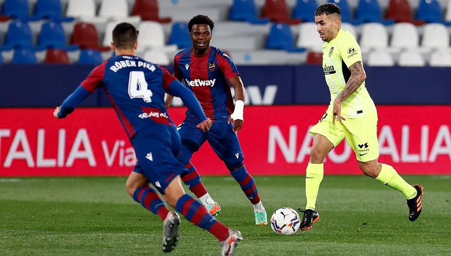 Atlético de Madrid x Levante