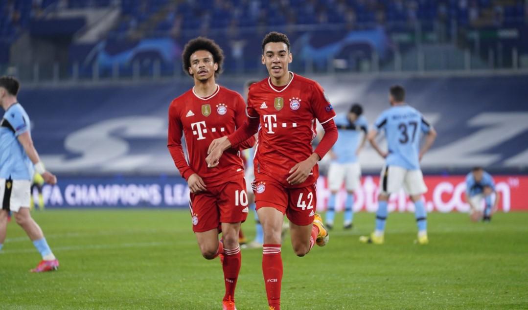 Lazio e Bayern de Munique
