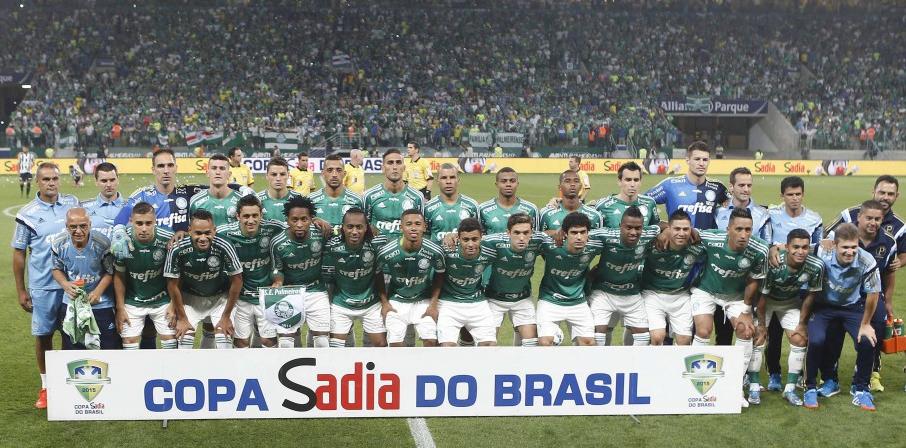 Palmeiras conquistou Copa do Brasil pela última vez em 2015