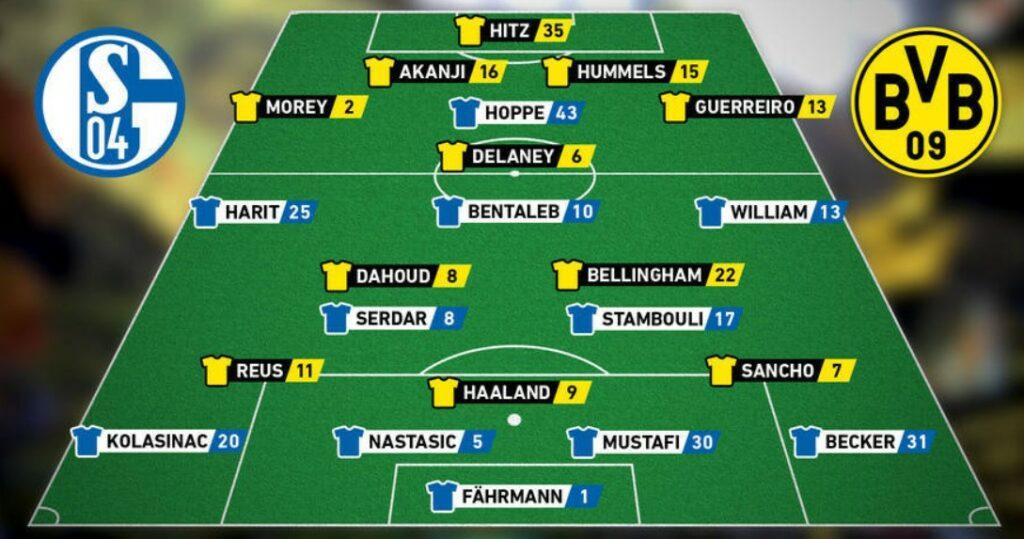Schalke 04 x Borussia Dortmund