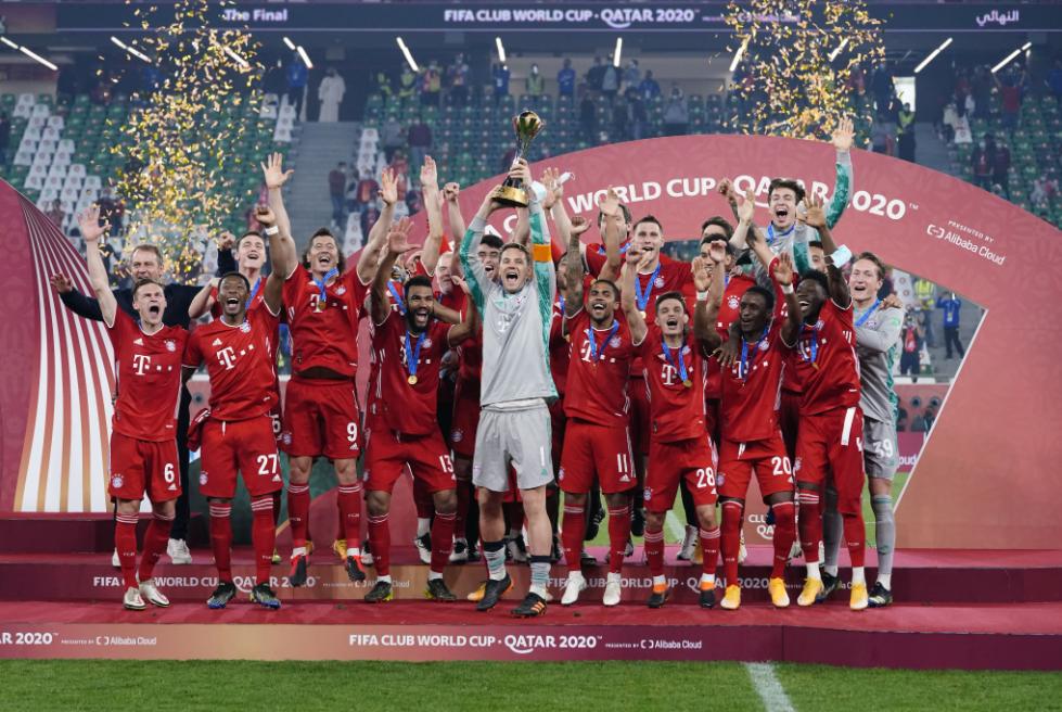 Campeão da atual edição, Bayern teria vaga garantida no no Mundial de Clubes