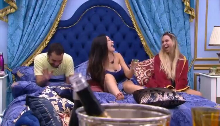 Gilberto, Juliette e Sarah - bbb21