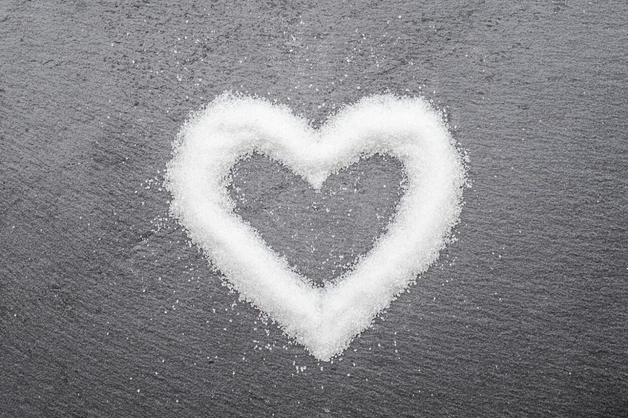 Banho de açúcar para o amor