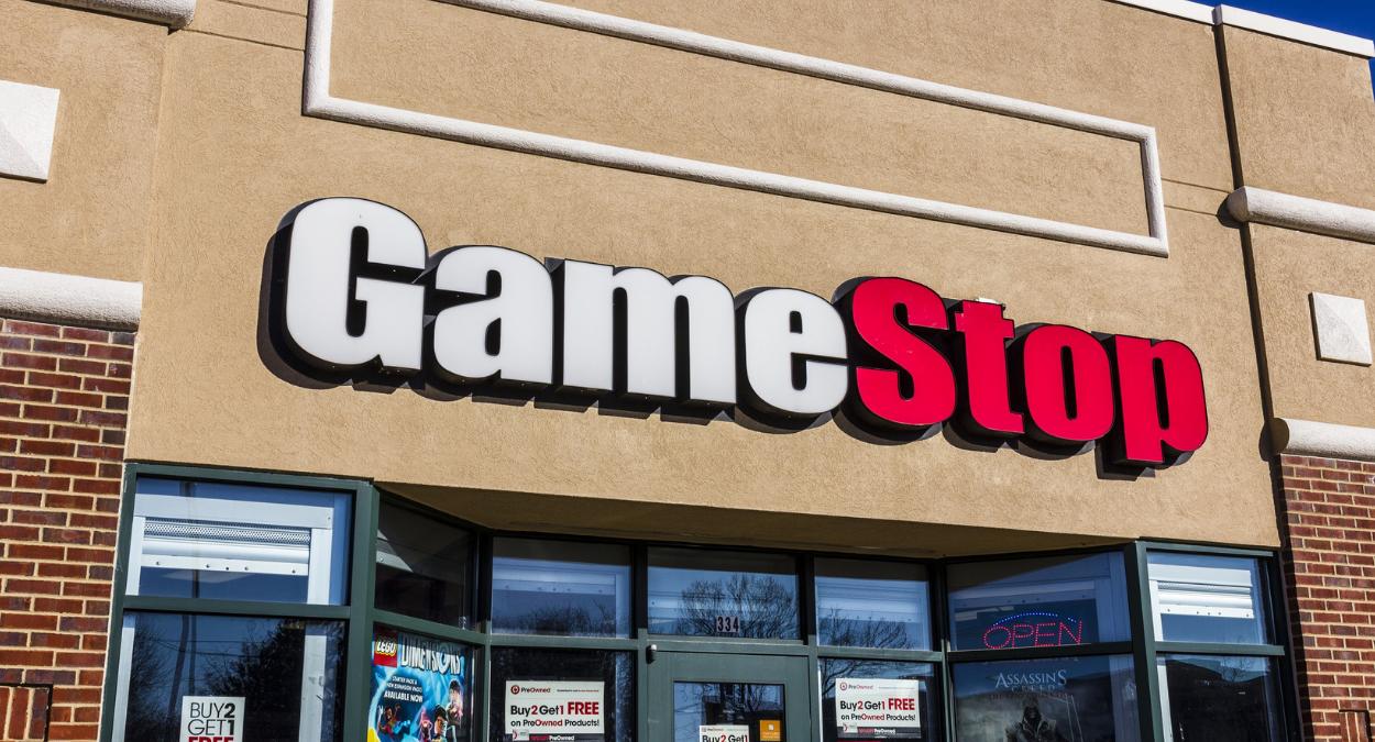 história da GameStop