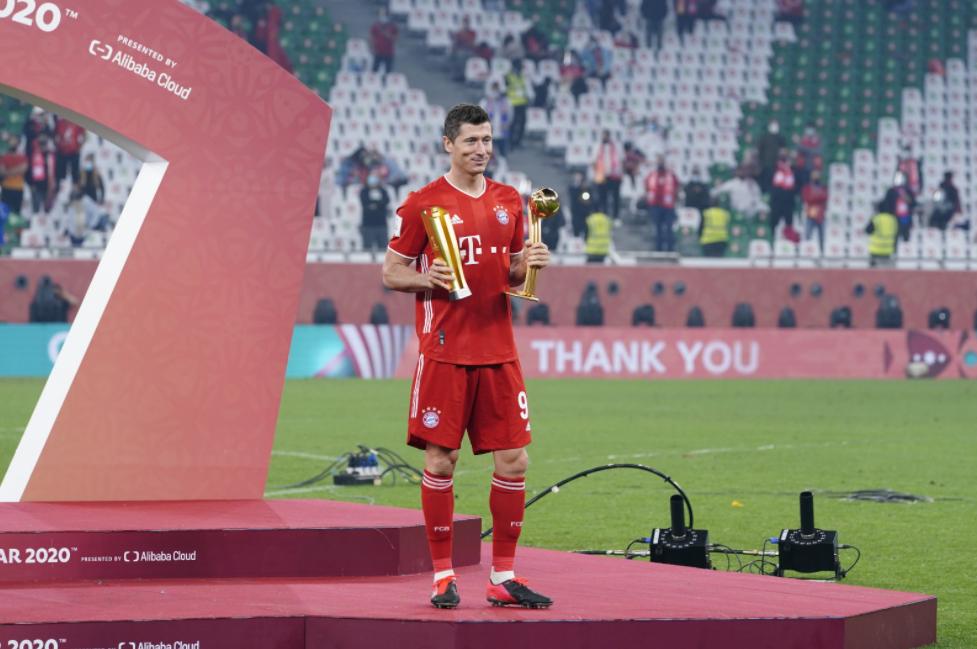 Lewandowski venceu prêmio de melhor jogador do Mundial