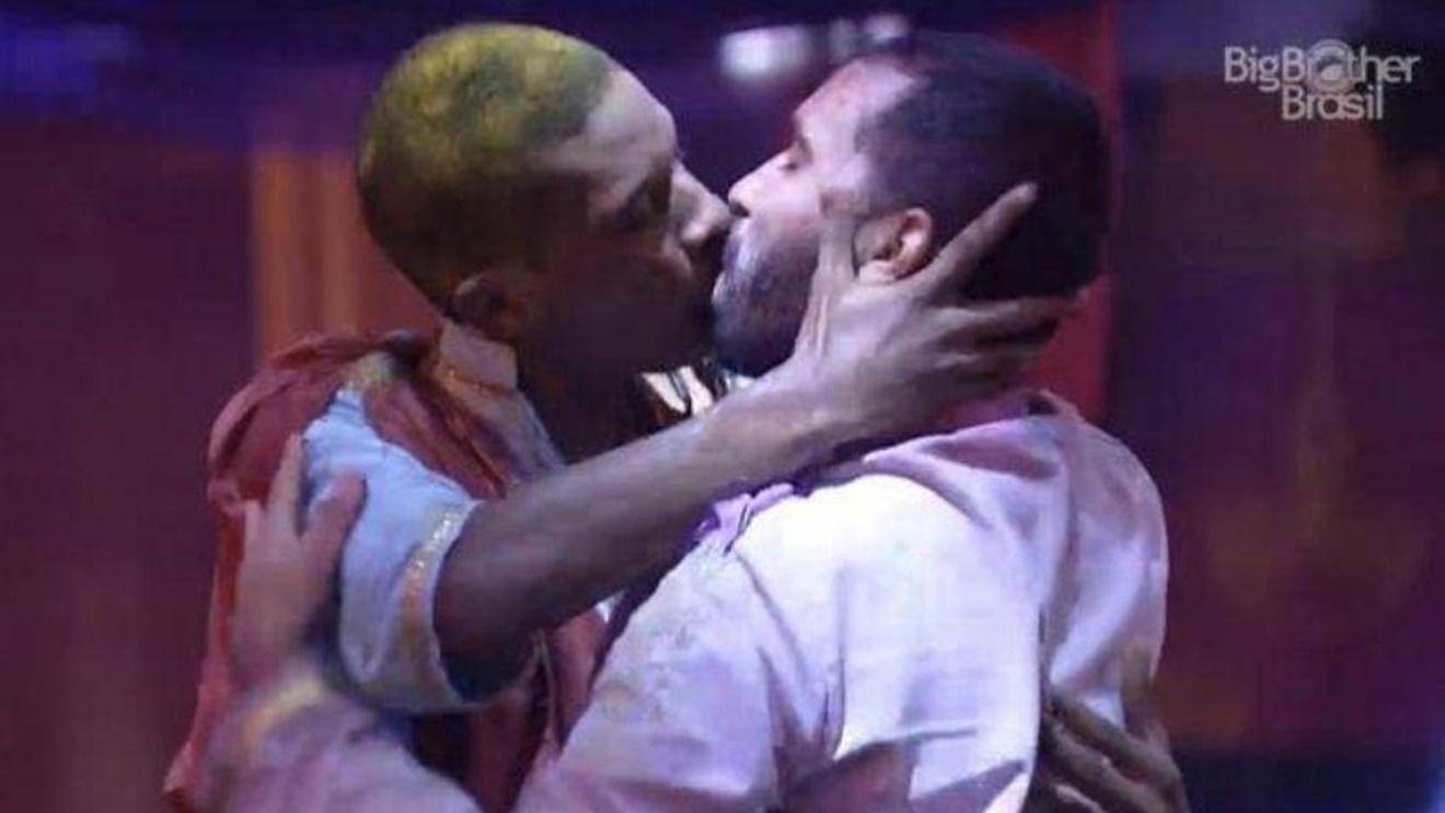 Lucas e Gilberto no BBB21