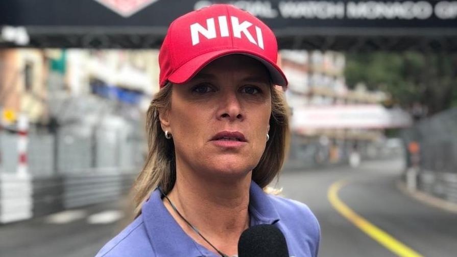 Contratada pela Band, Mariana Becker será repórter nas corridas da Fórmula 1