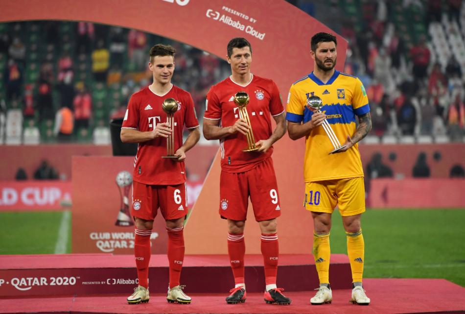 Três melhores jogadores do Mundial de Clubes de 2021