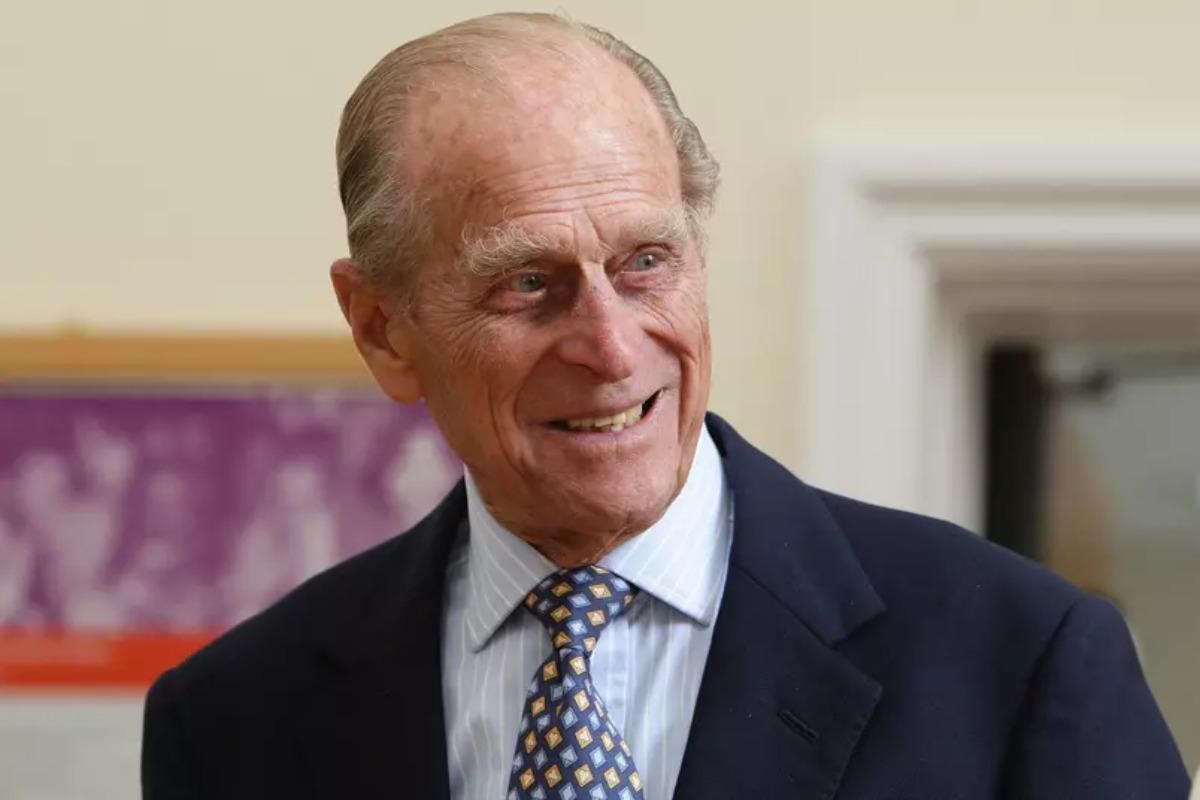 Imagem mostra Príncipe Philip
